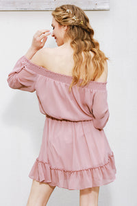 Bardot Ruffle Dress,Dress,- Vive Collections - Online boutique featuring dresses, skirts, tops, playsuits, pants