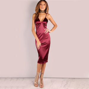 Gemma Satin Party Dress,Dress,- Vive Collections - Online boutique featuring dresses, skirts, tops, playsuits, pants