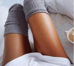 Knitted Thigh High Socks,Accessories,- Vive Collections - Online boutique featuring dresses, skirts, tops, playsuits, pants