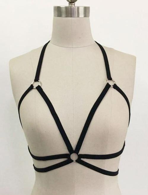 Strappy Harness Bra,Accessories,- Vive Collections - Online boutique featuring dresses, skirts, tops, playsuits, pants