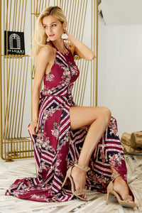 Olivia Halter Maxi Dress,Dress,- Vive Collections - Online boutique featuring dresses, skirts, tops, playsuits, pants