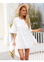 Mickie White Lace Dress,Dress,- Vive Collections - Online boutique featuring dresses, skirts, tops, playsuits, pants