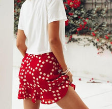 Elena Polka Dot Skirt,Bottoms,- Vive Collections - Online boutique featuring dresses, skirts, tops, playsuits, pants