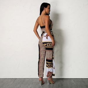 Mallory Print Jumpsuit,Playsuit,- Vive Collections - Online boutique featuring dresses, skirts, tops, playsuits, pants