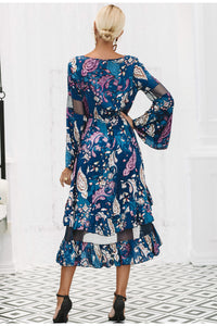 Autumn Print Midi Dress,Dress,- Vive Collections - Online boutique featuring dresses, skirts, tops, playsuits, pants
