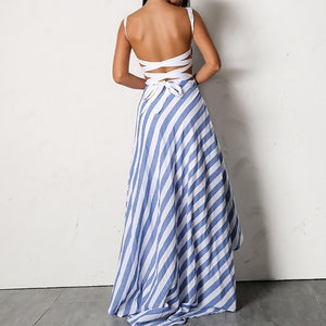Dallas Striped Maxi Dress,Dress,- Vive Collections - Online boutique featuring dresses, skirts, tops, playsuits, pants