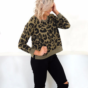Nomie Leopard Print Top,Tops,- Vive Collections - Online boutique featuring dresses, skirts, tops, playsuits, pants
