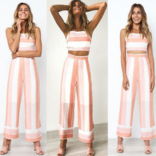 Chloe Stripe Two Piece Set,Sets,- Vive Collections - Online boutique featuring dresses, skirts, tops, playsuits, pants