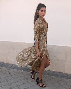Camilla Snake Print Maxi,Dress,- Vive Collections - Online boutique featuring dresses, skirts, tops, playsuits, pants