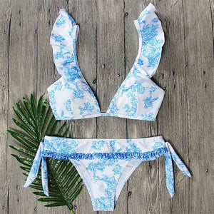 Bella Frill Bikini Set,Swimwear,- Vive Collections - Online boutique featuring dresses, skirts, tops, playsuits, pants