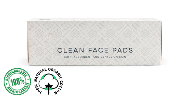 Organic Face Pads - 100 Count