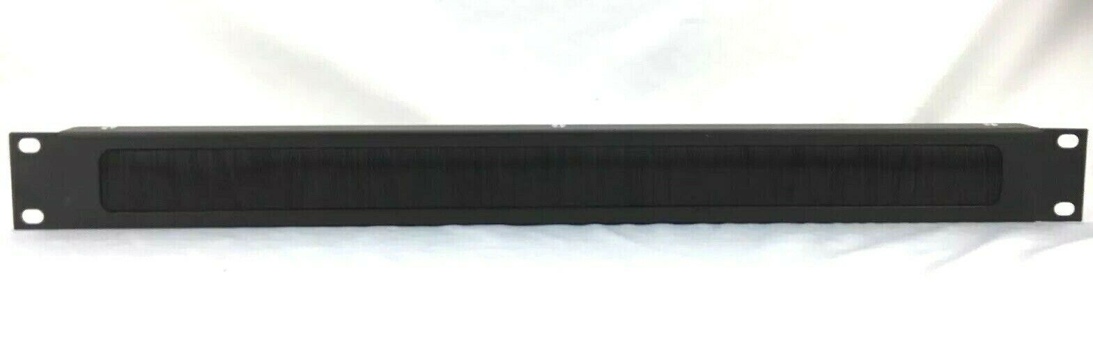 Middle Atlantic BR1 Brush Grommet Panel 1 RU Cable Pass-Through w/ Organize Tray
