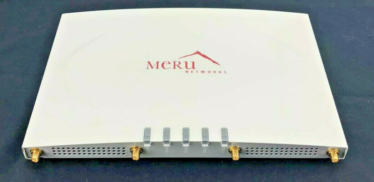 Meru Networks AP320 2.4 & 5.0 GHZ Wireless Access Point (WAP) with Bracket NEW