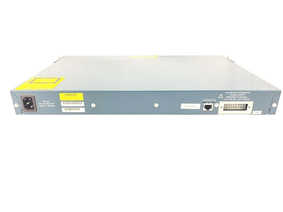 Cisco WS-C3524-XL-EN 24-Port Managed 10/100Mbps Network Switch X 2 Gigabit Slots