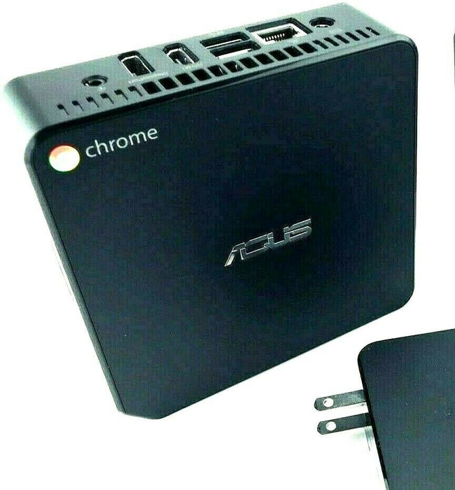 ASUS Chrome Tiny Computer HDMI Google Classroom Streaming Works Like Chromebook