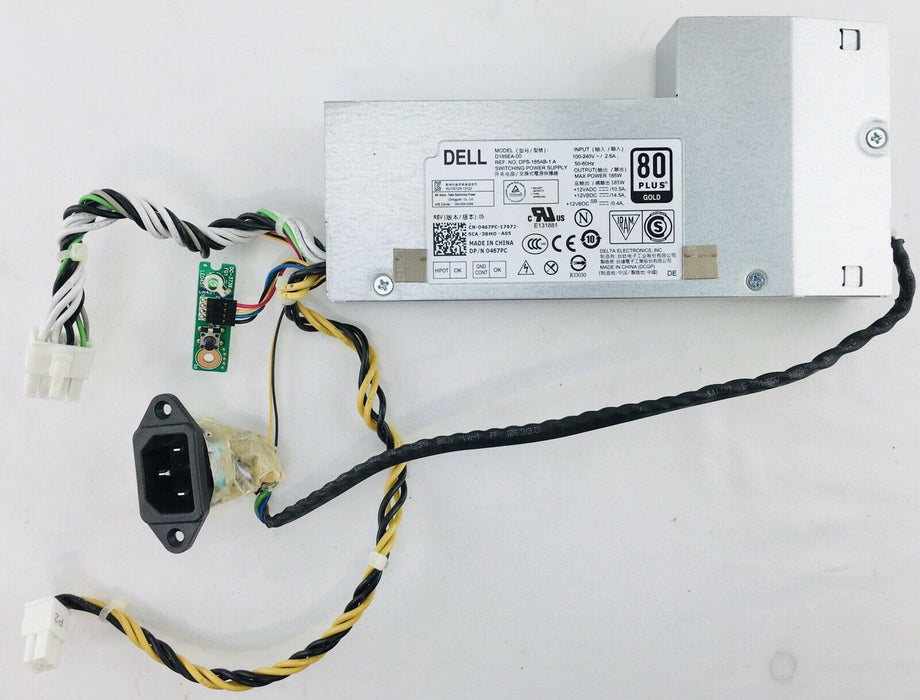"Dell 0467PC Inspiron 23"" 5348 All-In-One Power Supply D185EA-00"