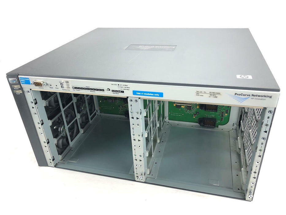 HP ProCurve 4208vl J8773A Managed 8 Slot Rack Mounted Switch Chassis Power Incl
