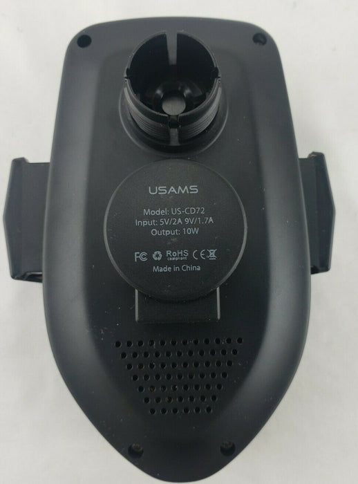 USAMS US-CD72 Wireless Car Charger, Fast Charging iPhone Samsung DOCK ONLY!!
