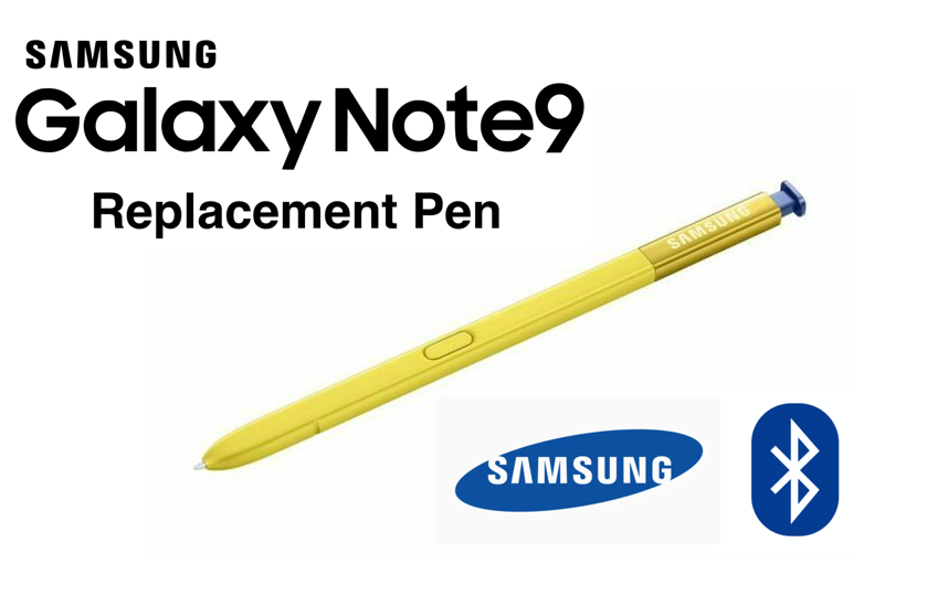 Samsung Galaxy Note9 S Pen Yellow Replacement Stylus Bluetooth EJ-PN960BLEGWW