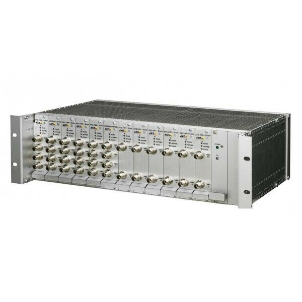 "Axis 241Q 19"" Rack Mount Video Server Blade Chassis, 3RU Bare Bones 0192-001"
