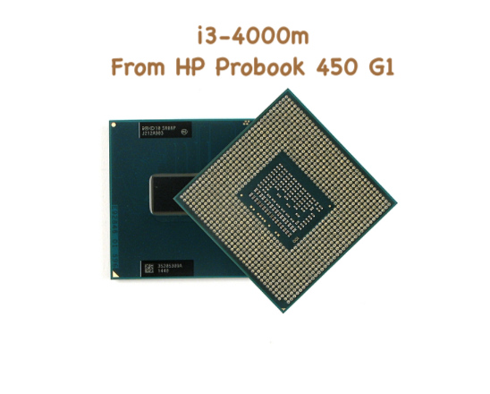 Intel Core i3-3110M CPU @2.40GHz 2MB Socket G2 SR0N1 For ProBook 450 G1 Notebook
