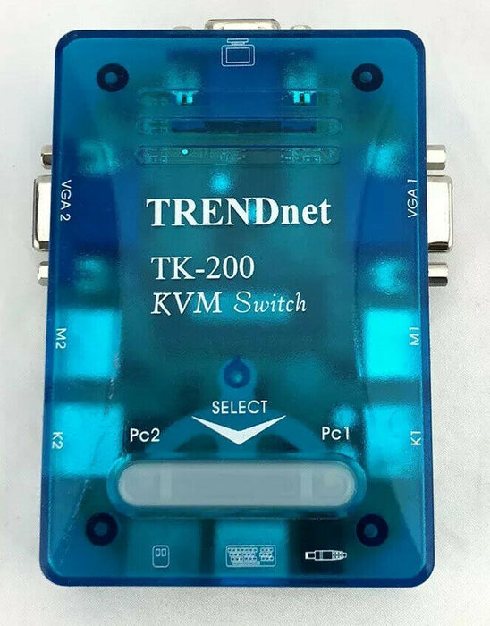 TRENDnet TK-200 KVM SWITCH -2-Port PS/2 KVM VGA Switch
