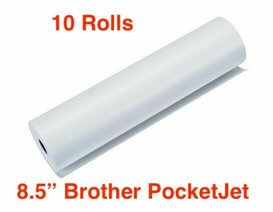 10x Lot Brother LB3667 PocketJet Thermal Quality Roll Paper Factory Sealed