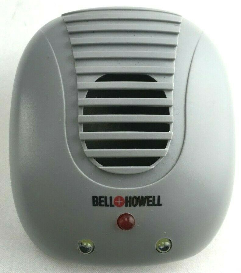 Bell and Howell SB-118 Direct Plug In Ultrasonic Pest Repeller for Indoors GRAY