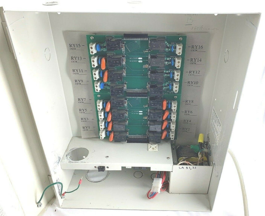 Powerline WK16A 16 Circuit Lighting Control Systems 227 VAC, 20AMPS, 50W
