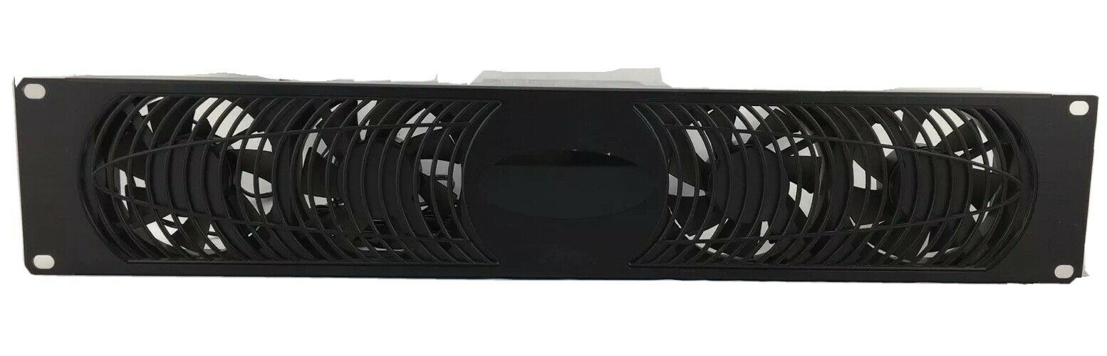 Middle Atlantic UQFP-4DRA Fan Cooling Panel 100CFM 27dB Anodized w/ Display