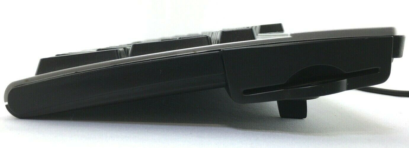 HP KUS0133 Keyboard with Integrated Smart Card Reader Wired USB 434822-002 DOM