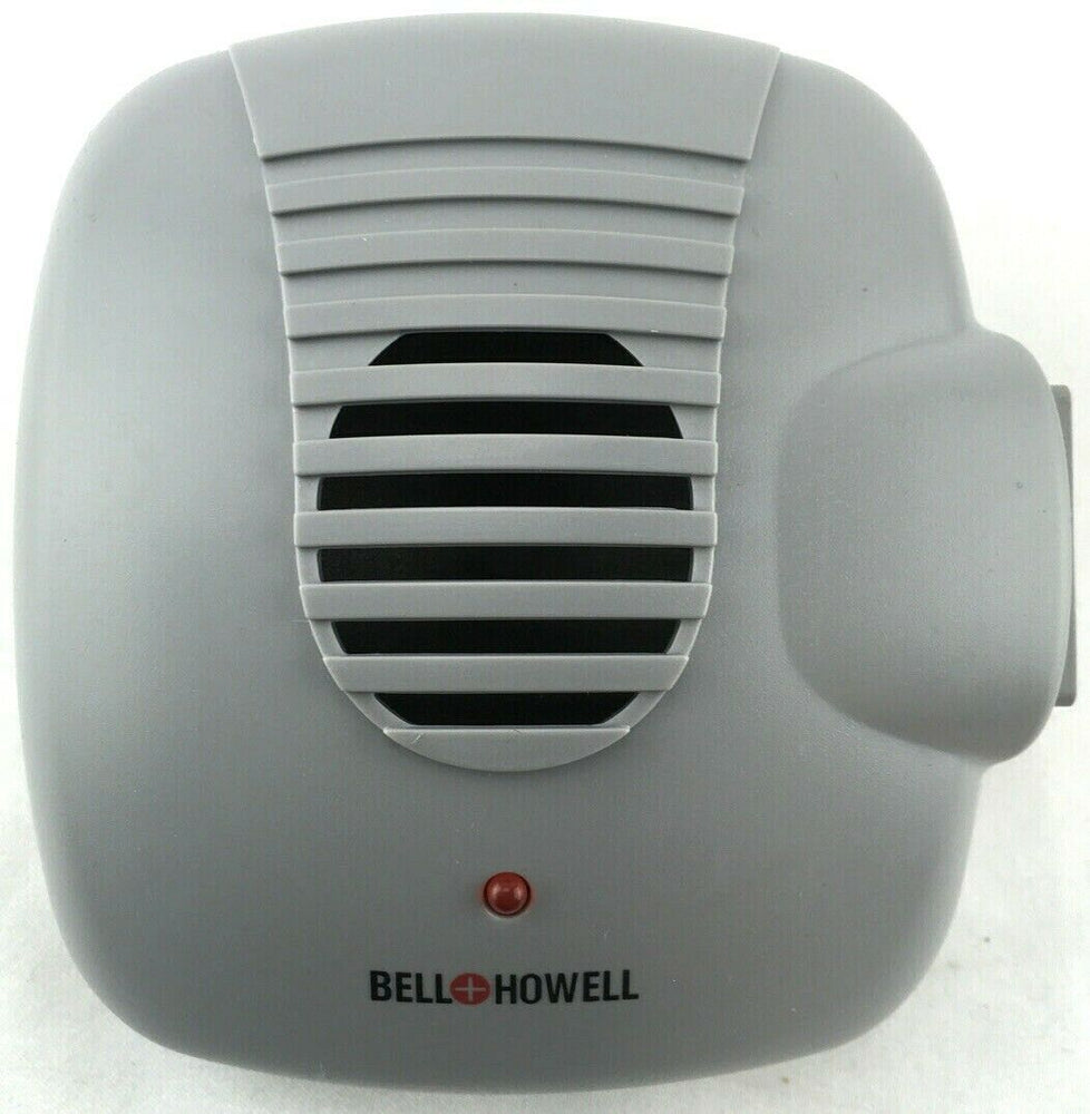 Bell and Howell SB-104 Direct Plug In Ultrasonic Pest Repeller w/ Outlet GRAY