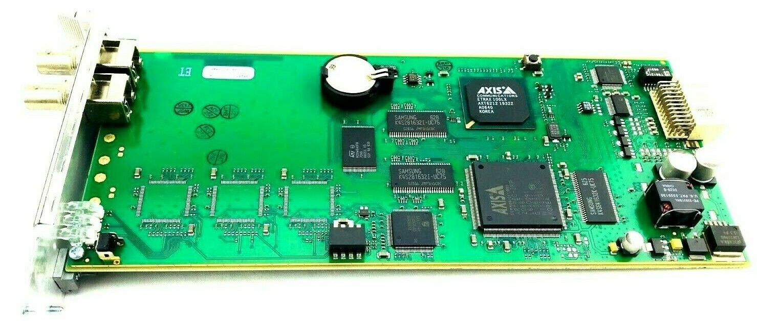 AXIS 241S Blade Video Server 1 Channel Card 0210-001 Fit 3RU Chassis 0192-004