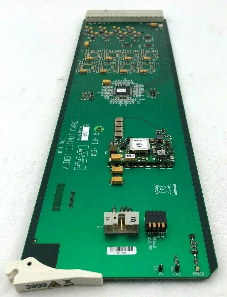 Pro-Bel 3999 VIDEO OUTPUT CARD industrial composite video board
