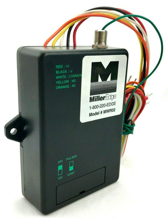 Miller Edge MWR02 Universal Receiver Saftey Swing Slide Edge Gates 400-MW-001