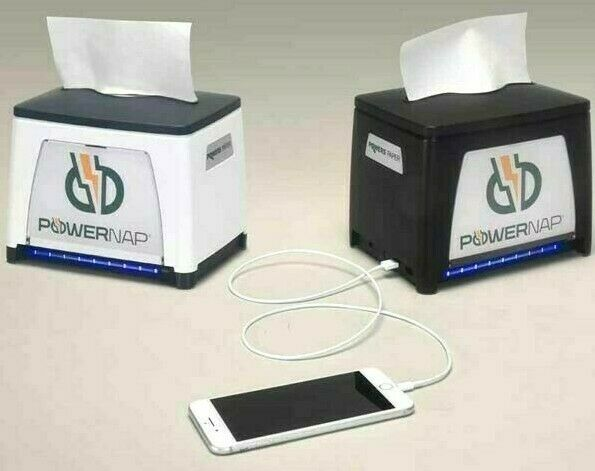 USB Power Bank for Mobile Phones & Tablet Fast Food Customers, Airports, Travel