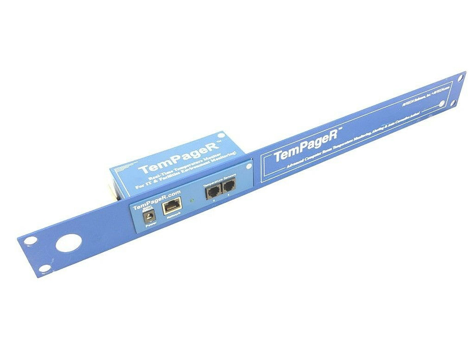 AVTECH TemPageR TMP-166574 Advanced Computer Room Real-Time Temperature Monitor