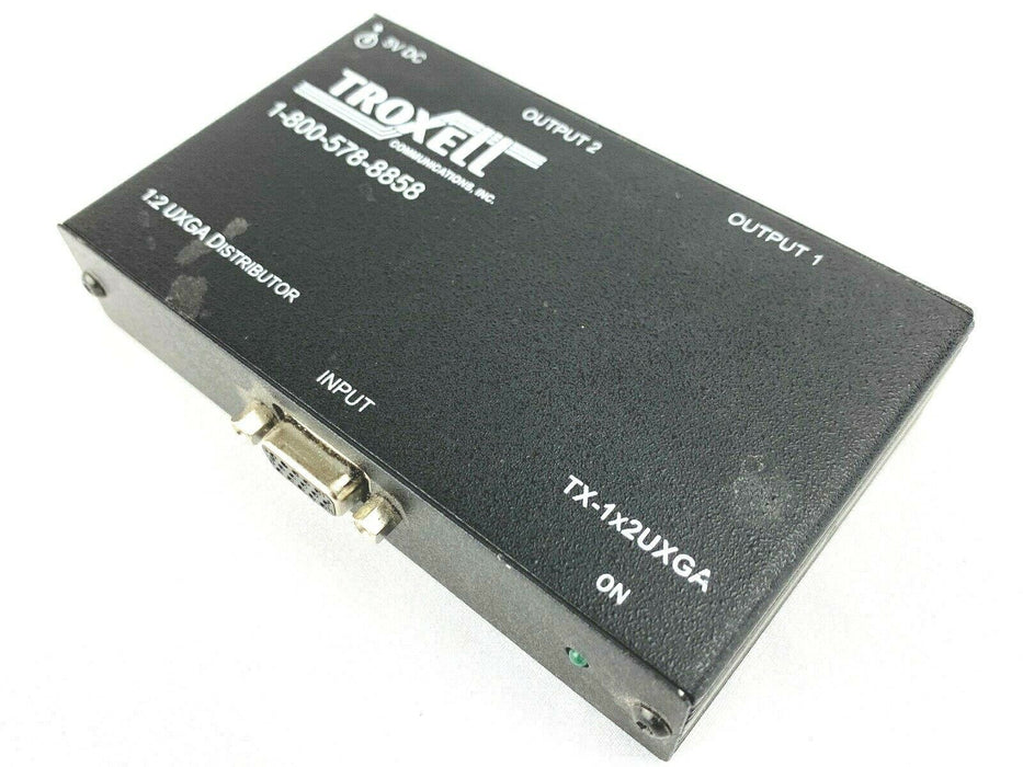 Troxell TX-1X2UXGA Video Splitter 1:2 High Resolution UXGA Distributor