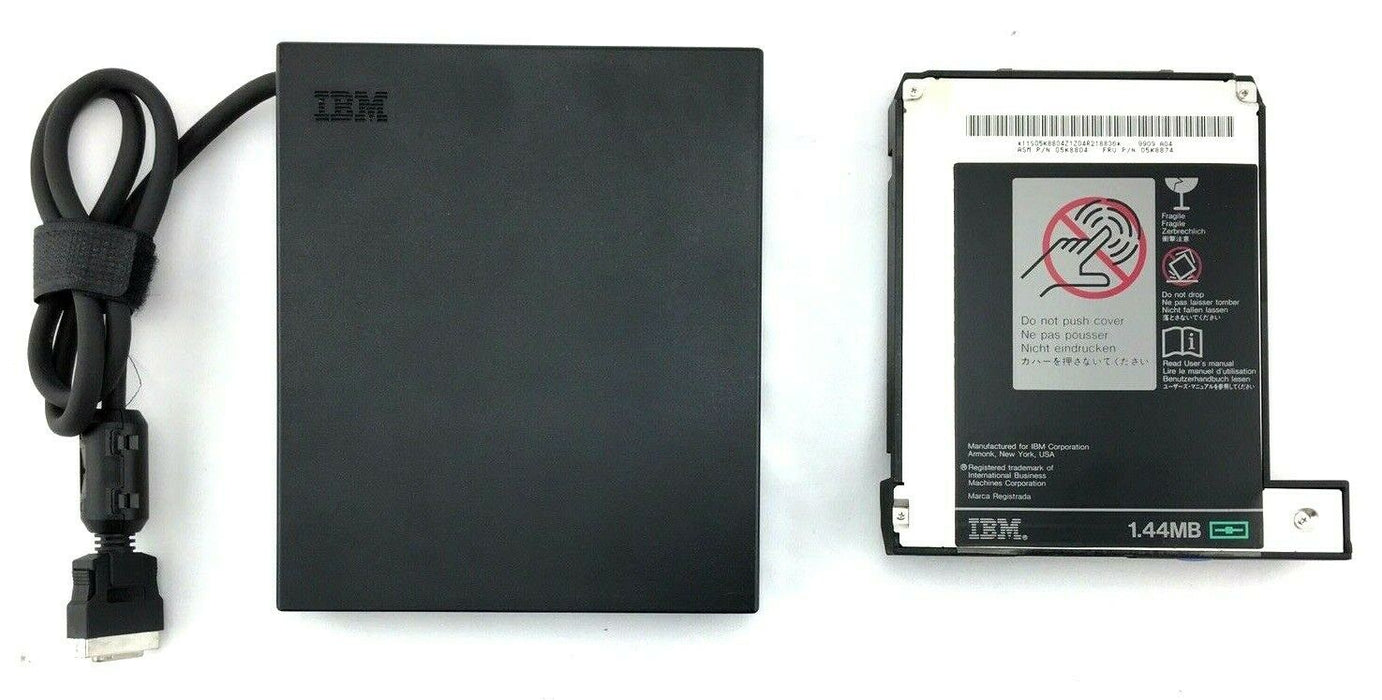 "IBM 3.5"" 1.44MB Floppy Drive (05K8874/20L1931) with Enclosure (05K6187/05K5907)"