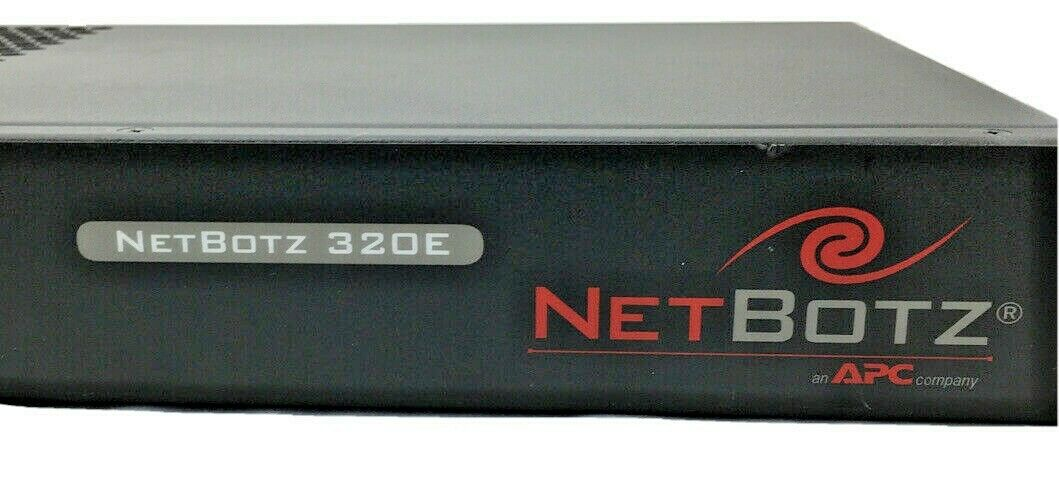 APC NBRK0320E NetBotz 320E Rack Appliance Security and Environmental Monitoring