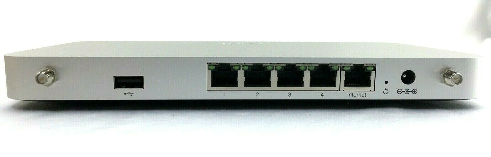 Cisco Meraki MX64W Cloud Managed Wireless Security Appliance SD-WAN 600-32015-D
