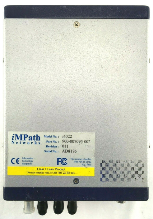 iMPath Networks i4022 i-Volution 4000 Hardened Encoder 900-007095-002