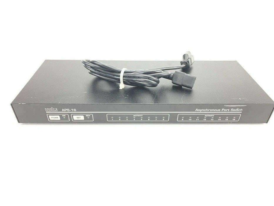 Western Telematic APS-16 16-Port Asynchronous Network Switch