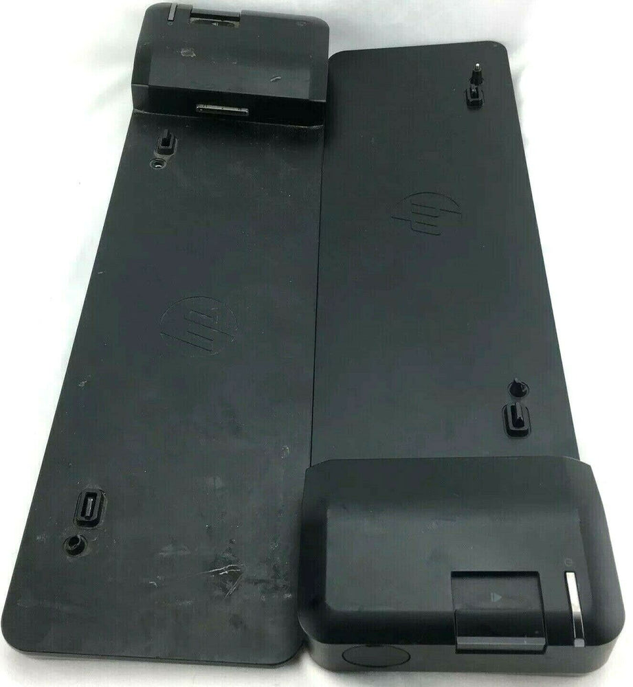 HP B9C87AA#ABA UltraSlim Docking Station for HP Elitebook FOR PARTS Lot of 2