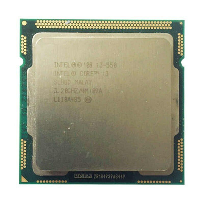 Intel Core i3-550 3.2GHz 2.5 GT/s LGA 1156/Socket H Desktop CPU SLBUD