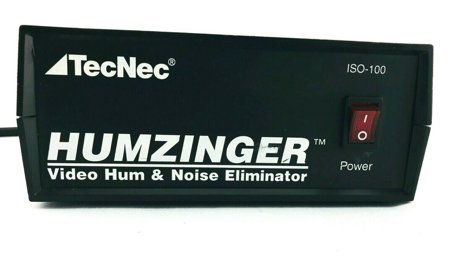 TecNec ISO-100 Humzinger Single Channel Video Hum & Noise Eliminator DA