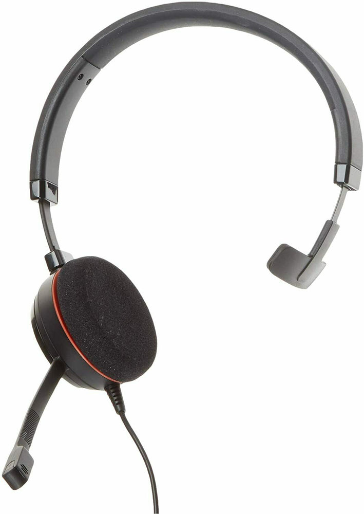 Jabra Evolve 20 USB Headset Single Ear-Pad Noise Cancelling Microphone HSC016