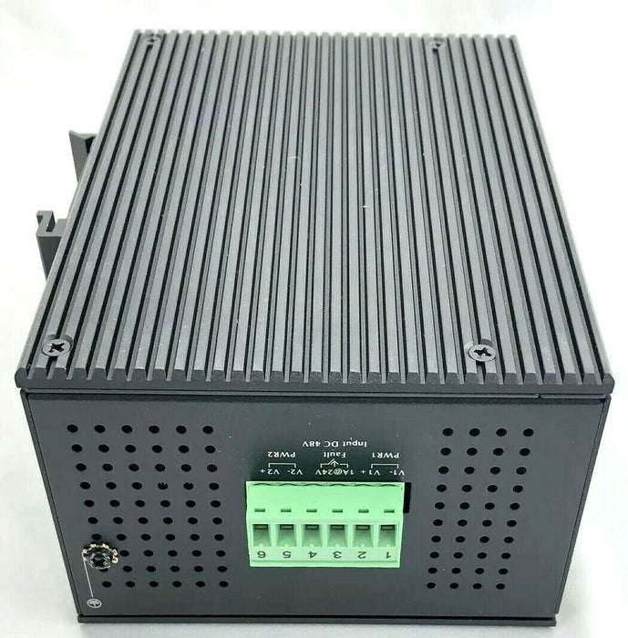 IGS-624HPT IP30 Rugged PoE+ Switch 4-Port 10/100/1000Base-TX IEE802.3at Gigabit