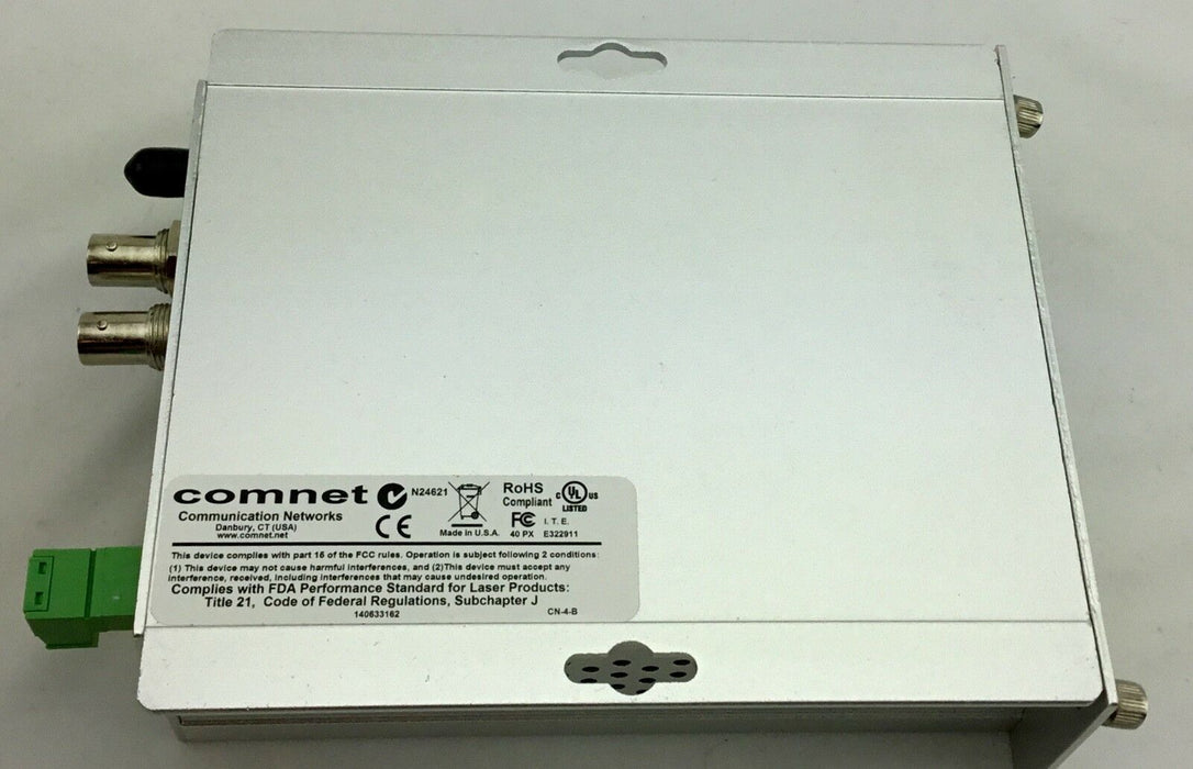 COMNET Multimode 1310/1550nm 2-Channel 10-Bit Video Transmitter, Data FVT2014M1