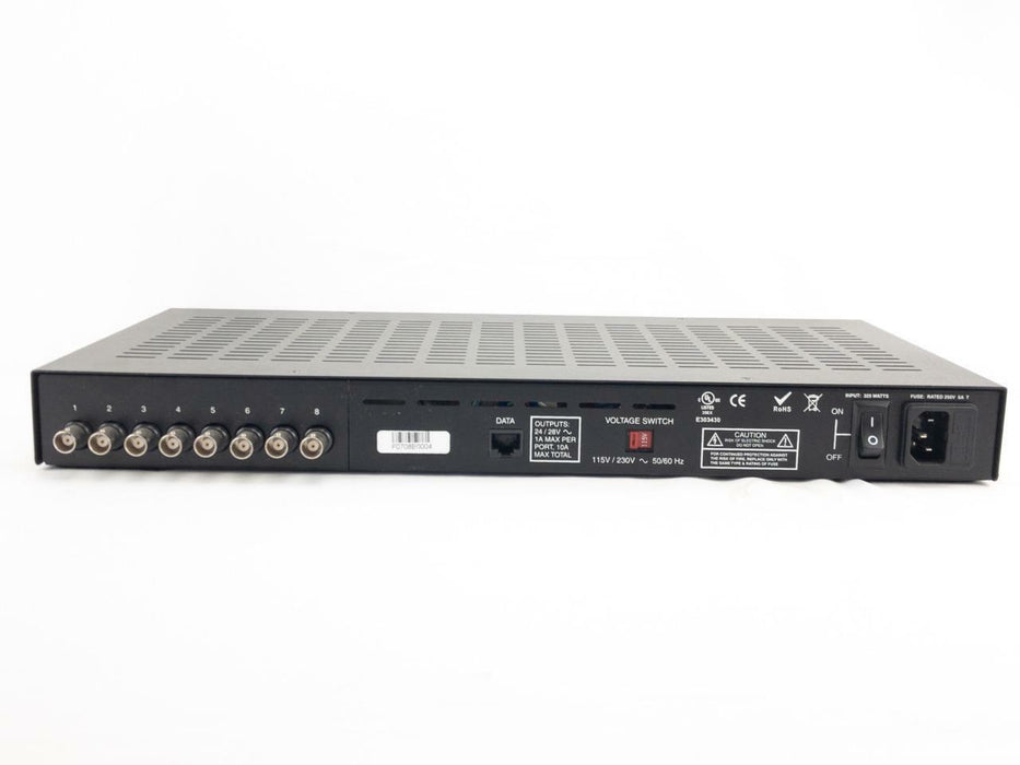 NVT NV-8PS13-PVD 8-Channel UTP Power Supply Passive Video Receiver Hub